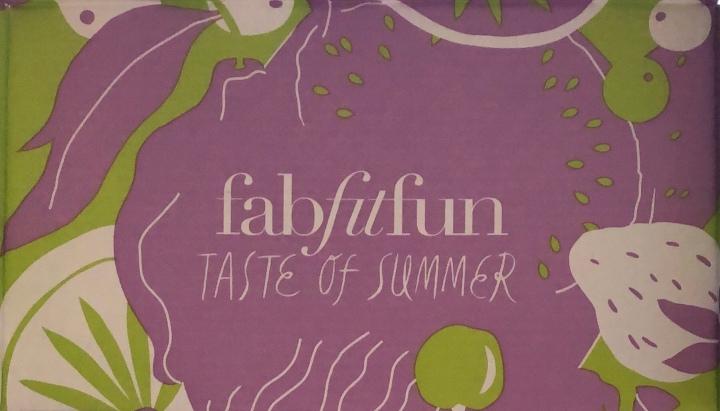FabFitFun Summer 2018Box