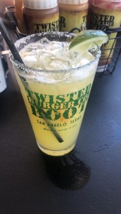 Twisted root