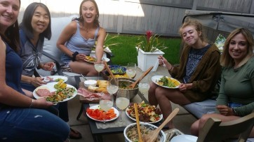 Dinner with the girls 2