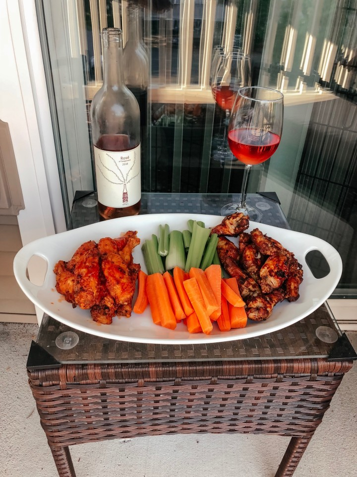 Wine and wings
