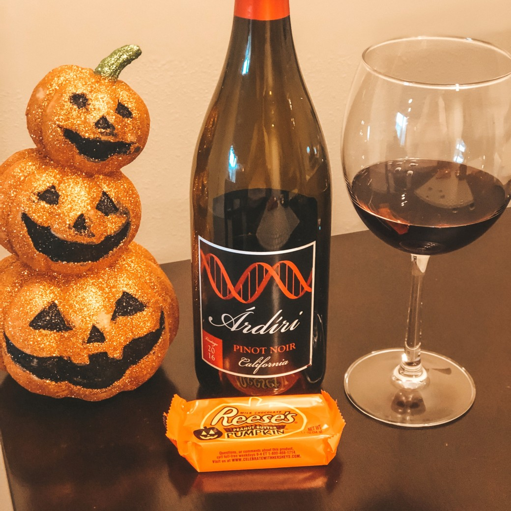 Pinot Noir and reeses