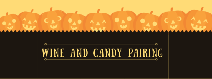Wine and Candy pairing for Halloween!