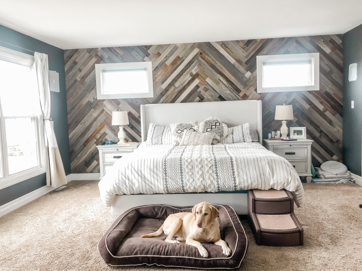Our Plank & Mill Accent Wall!
